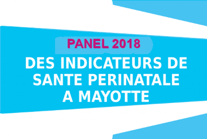 Panel 2018 : Indicateurs de santé périnatale à Mayotte